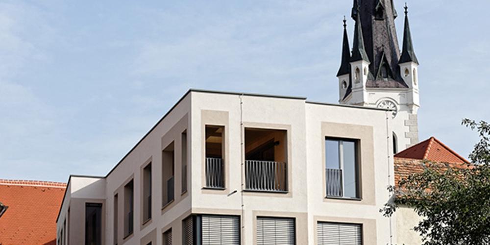 Wohnen an der Stadtmauer, Horn, ah3 Architekten, 2017